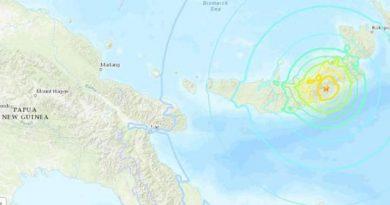 Usai Gempa Situbondo, Gempa 7,0 Magnitudo Guncang Papua Niugini, Peringatan Tsunami Dicabut