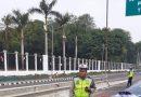 Jelang Demo, Jalan Menuju Istana Ditutup Kawat Berduri